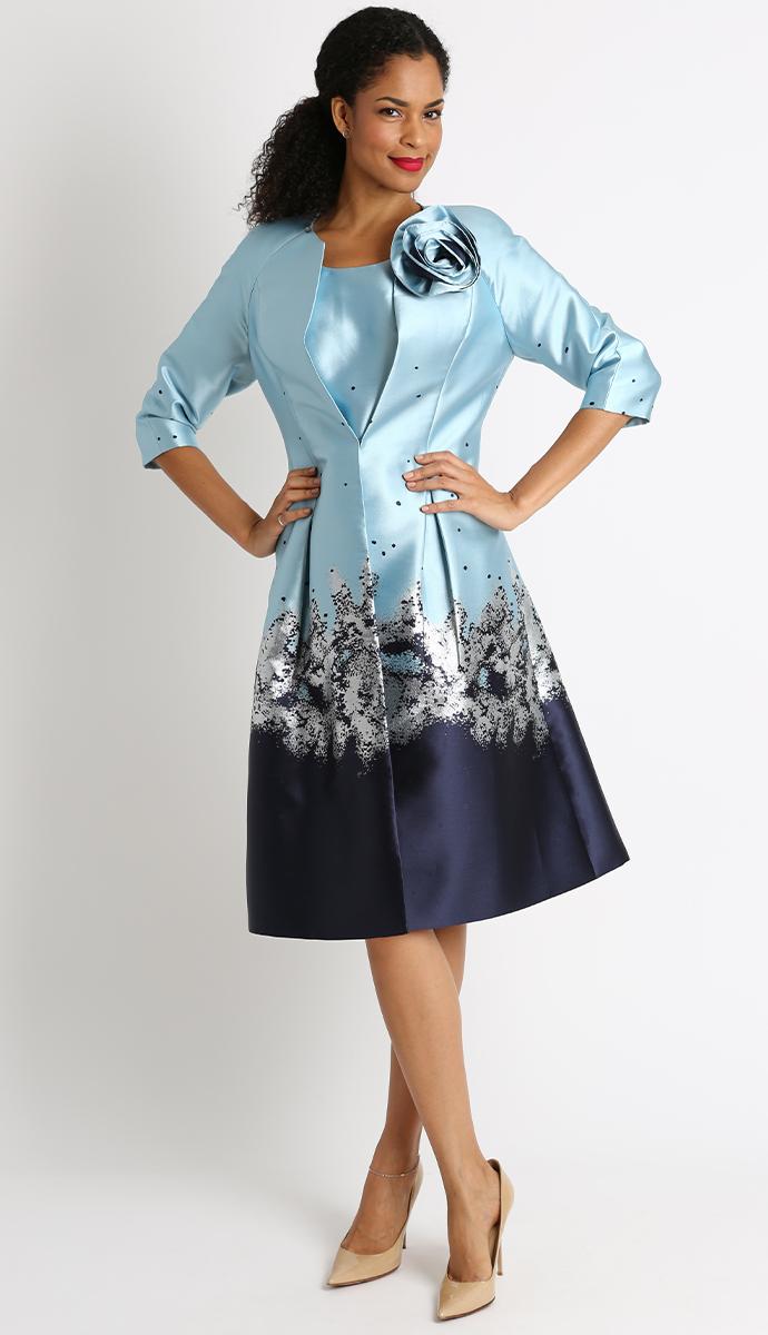 25b1cfda9 Diana 2 Piece Coat Dress 8442 -