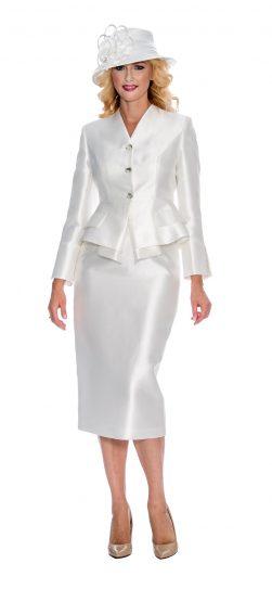 giovanna,g1084, white skirt suit, white dressy church suit