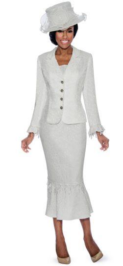 Giovanna,skirt suit,g1049,white