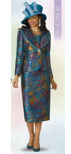 lily and Taylor, skirt suit, 4190