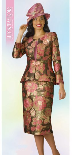 lily and Taylor, 4240, skirt suit