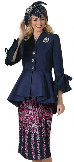 lily & taylor, style 4352, lavender, navy-multi, ivory-multi, size 4-24