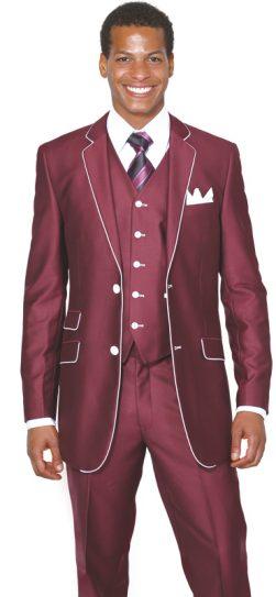 longstry, mens burgundy suit, 5702V1