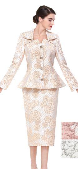 serafina, skirt suit, 3918,gold skirt suit