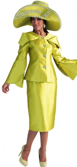 Tally Taylor, skirt suit, 4570,apple green