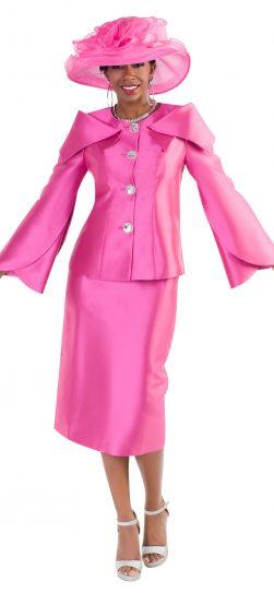 tally Taylor, 4670, fuchsia skirt suit,