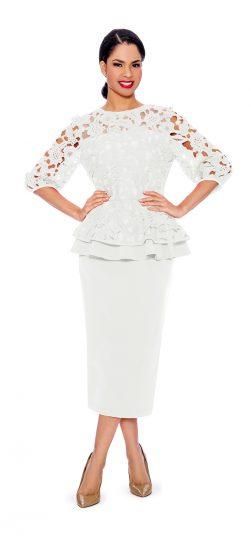 giovanna, 0930,ivory skirt suit