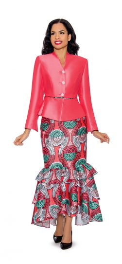 giovanna, g1092, coral skirt suit