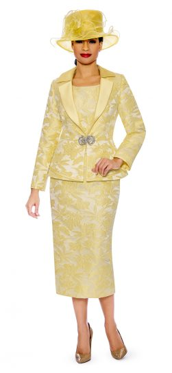 giovanna, g1096, yellow skirt suit