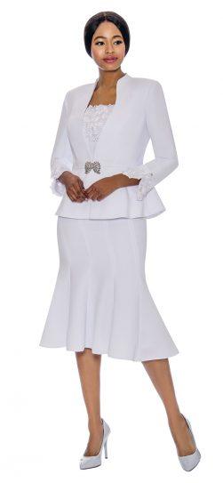 Susanna, 3890, white church suit