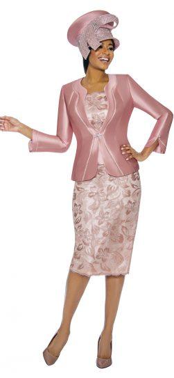 Susanna, 3892, mauve skirt suit