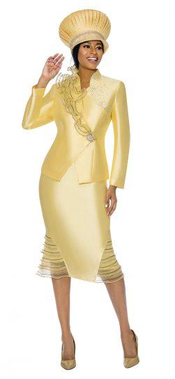 Susanna, yellow skirt suit, 3900