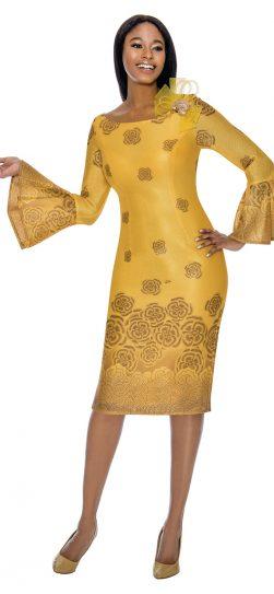 susanna,dress, gold dress, 3901