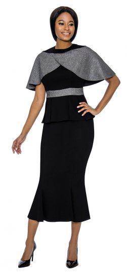 susanna, 3903, black skirt suit