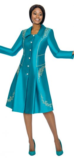 susanna, 3905, teal church dress