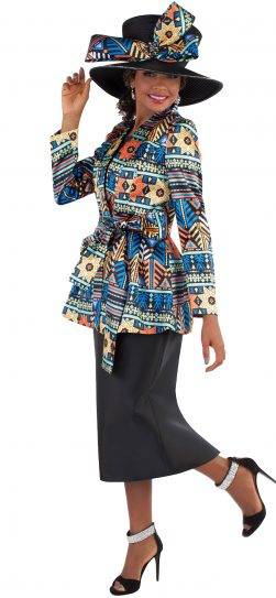 tally taylor, style 460-MULTI, size 8-26W, mulit print