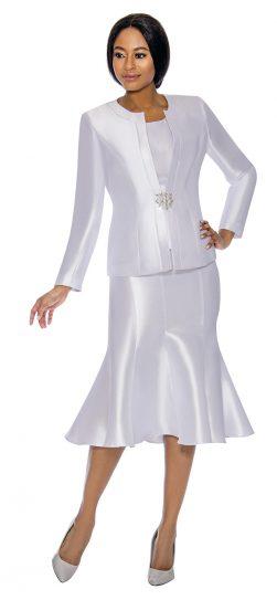 terramina, white skirt suit, 7689