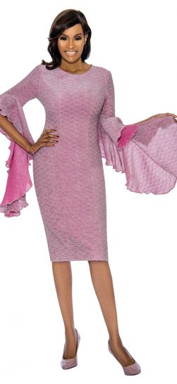 terramina, pink dress, 7716