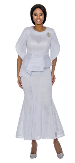 terramina, skirt suit, 7737, white church suit