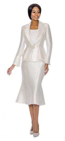 terramina, 7741, white skirt suit