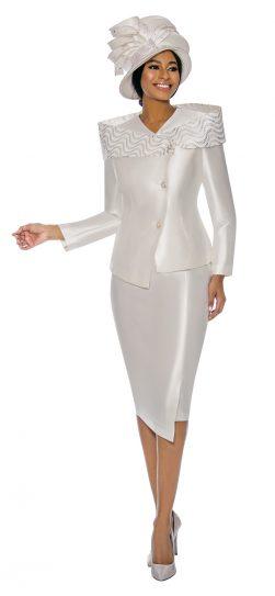 terramina, 7745, white skirt suit