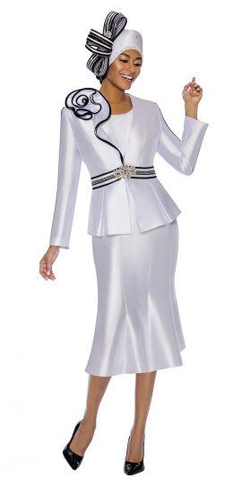 terramina, white skirt suit,7747