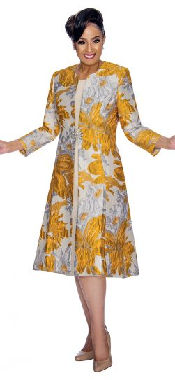 Dorinda Clark-Cole,dress and jacket,dcc1322,gold-silver