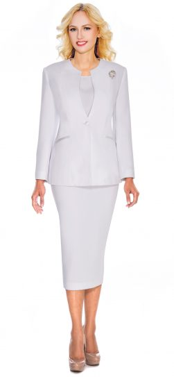 Giovanna,0708, white church suit