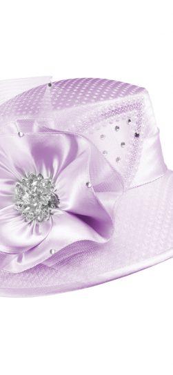 giovanna, lilac hat, lilac church hat