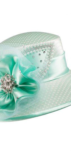 Giovanna, HG1094, seafoam hat