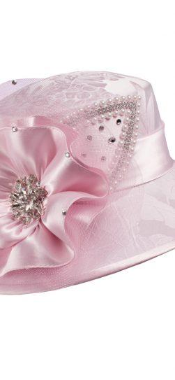 giovanna, pink hat, hg1096, pink church hat