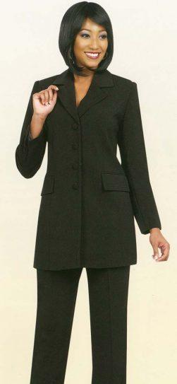 benmarc, 10496, black, pant suit