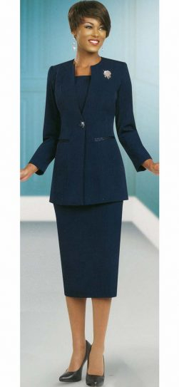 benmarc, 78099, navy skirt suit
