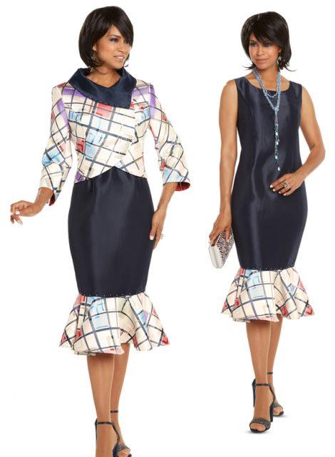 donna vinci,jacket dress, 5614