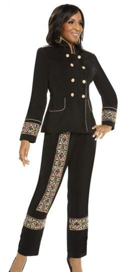 Donna Vinci,pant suit,11662