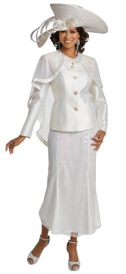 Donnavinci-11745-white-skirt suit
