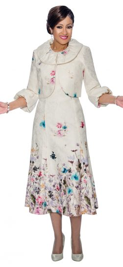 Dorinda Clark-Cole, DCC1122, white dress, jacket dress, white church dress,