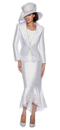 GMI, GMI skirt suit, GMI Church suit, womens skirt suit, women's church suit,g6643,white