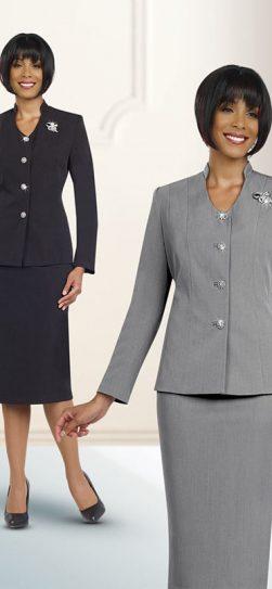 benmarc, 78096, silver skirt suit