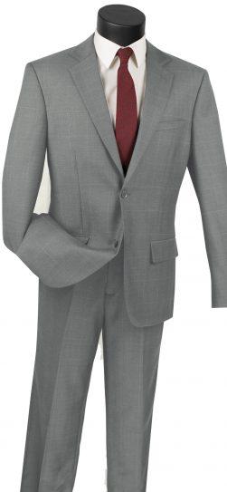vinci, grey mens suit, 2wwp-1