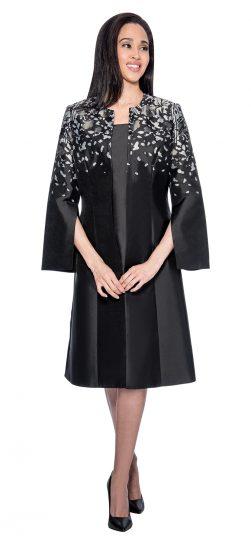 Dress by Nubiano,DN3772,black-white