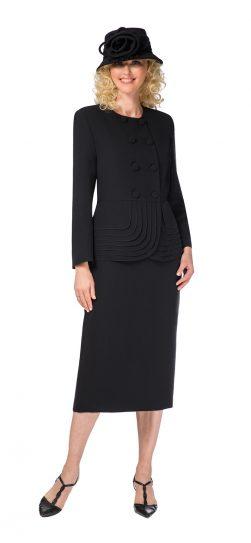 giovanna, 0902, black skirt suit
