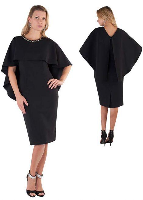 chancele, 9501, black dress