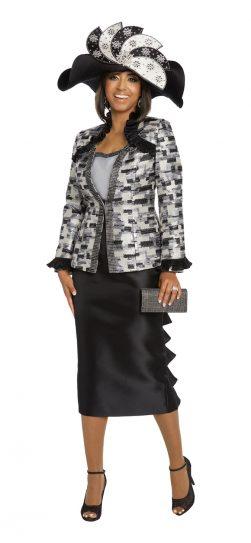 Donnavinci, 5641, skirt suit
