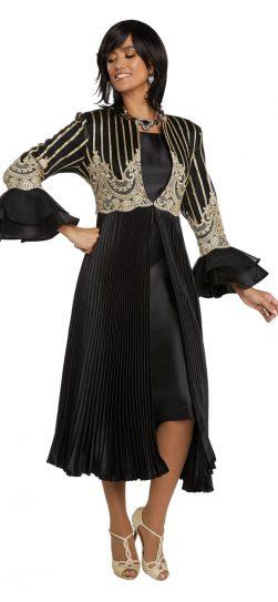 Donnavinci, 5650, long dress and jacket