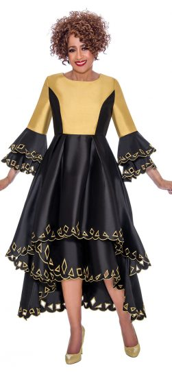 dorinda clark cole, dcc1461, black-gold
