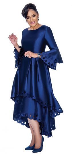 Dorinda Clark-Cole, dress, dcc1431,navy dress