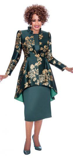 dorinda clark cole, dcc2242, green dress