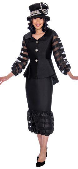 gmi, 7632, black church suit