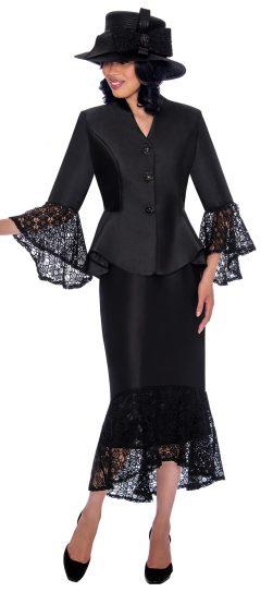 gmi, g7552, dressy black skirt suit
